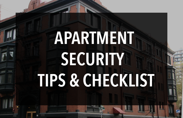 Apartment Security Tips & Checklist